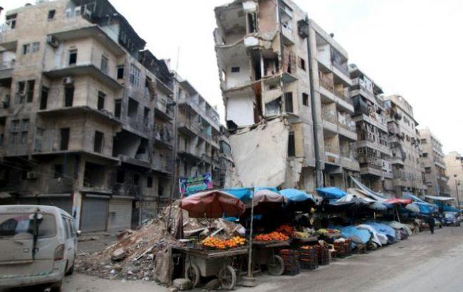 Фото: сирийский город Алеппо