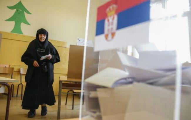 Премьер Сербии Вучич проголосовал навыборах президента страны