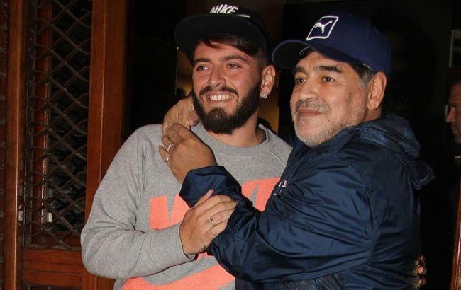 Син Марадони потрапив до реанімації: про смерть батька дізнався від журналіста