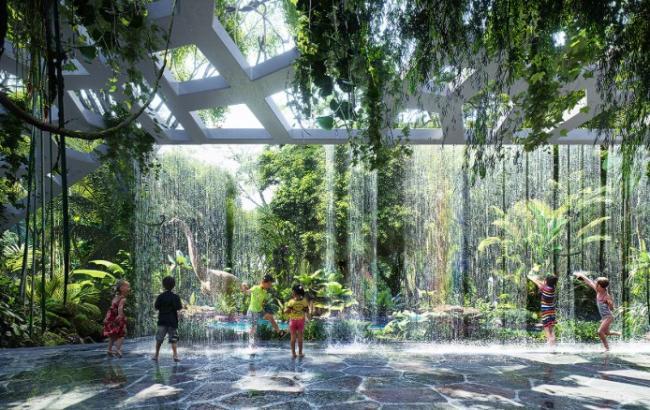 В Дубае создадут небоскреб с лесом внутри здания