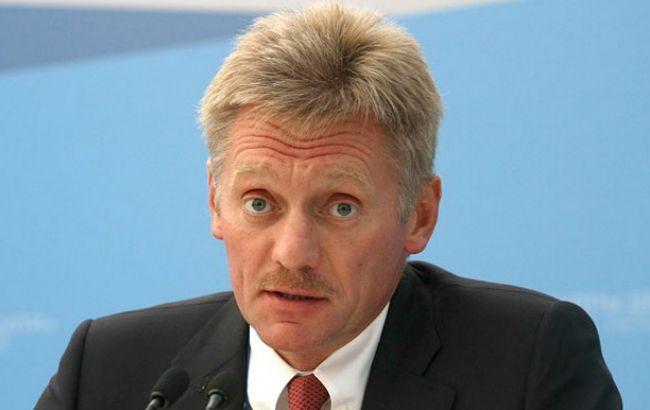 Пєсков: Росія непланує обговорювати питання Криму зУкраїною