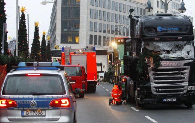 Фото: теракт в Берлине