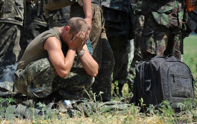В зоні АТО внаслідок обстрілу 1 загиблий, 9 поранених і 10 травмованих військових, - штаб