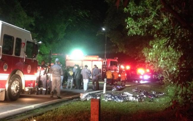 В Бразилии перевернулся автобус со студентами, погибли 16 человек