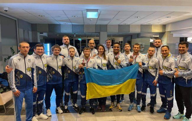 """Україна виграла три """"бронзи"""" на Чемпіонаті Європи з греко-римської боротьби"""