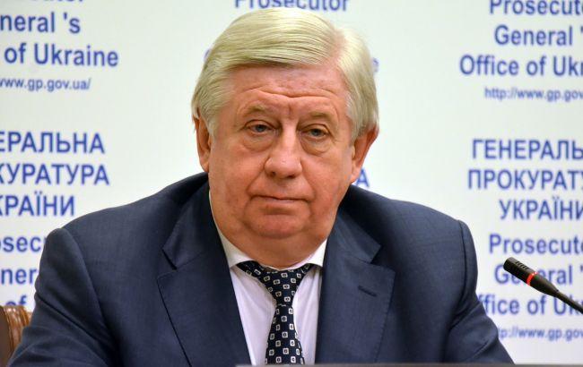 В ГПУ говорят, что уже в октябре Виктор Шокин освободит кресло генерального прокурора