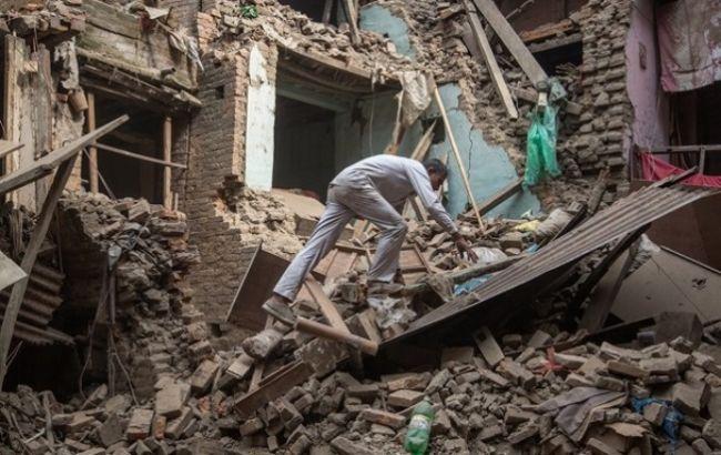 Фото: последствия землерясения в Непале