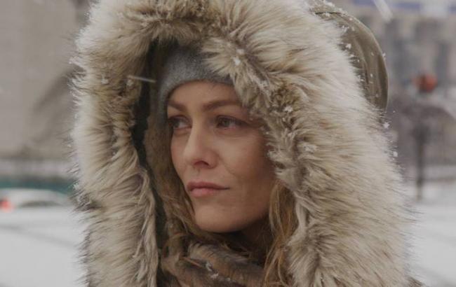 """Фото: Ванесса Параді у фільмі """"Іній"""" (facebook.com/iniy.movie)"""