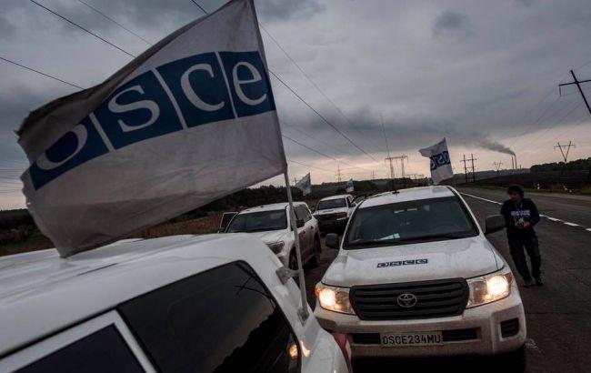 Фото: спостерігачі ОБСЄ на Донбасі