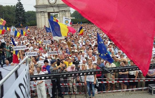 Фото: мітинги в Кишиневі