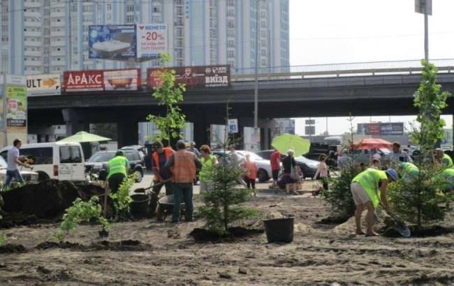 Фото: Сквера на Осокорках не будет (kievcity.gov.ua)
