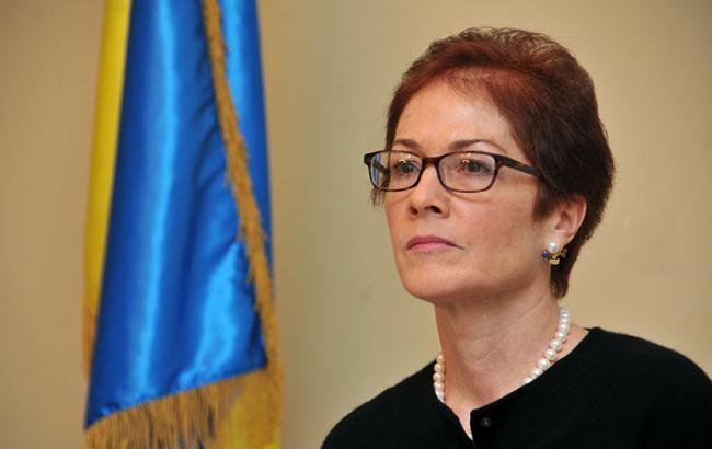 Фото: посол США в Украине Мари Йованович