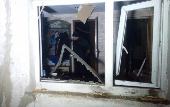 Фото: последствия артобстрела Сартаны