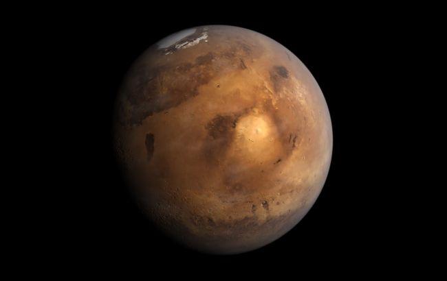 Китай показав фото свого планетохода, зроблене з орбіти Марсу