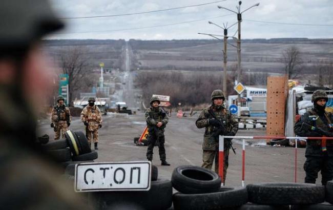 «Разгон» блокады Донбасса: СБУ задержала 43 человека соружием
