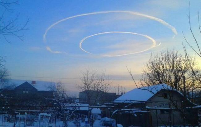 Фото: Необычные круги в небе