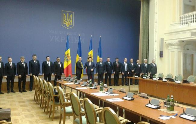Фото: Україна і Молдова домовилися про співпрацю на 2017 рік