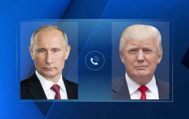 Путін і Трамп обговорили майбутню зустріч і питання Сирії