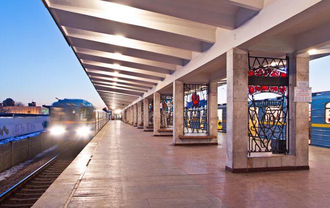 ВКиеве из-за пожара временно закрыли две станции метро