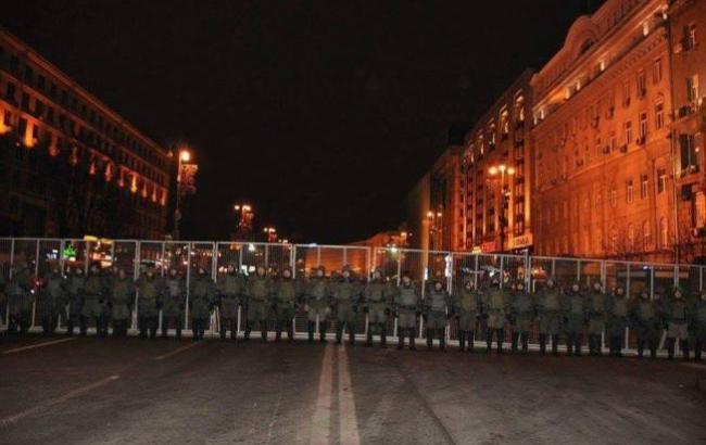 Фото: Центр Киева охраняется