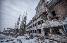 Фото: Старий термінал Донецького аеропорту