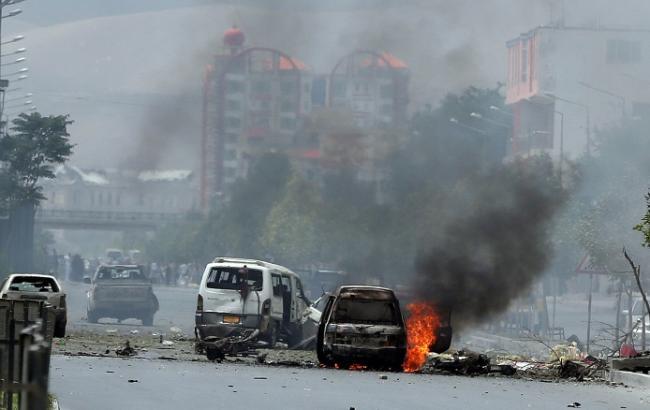 Фото: Взрыв в Афганистане