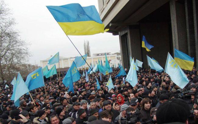 Петр Порошенко пообещал «неоставить без поддержки» граждан Крыма