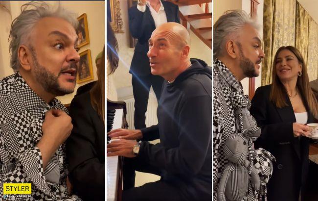"""Лорак, Киркоров и Крутой запели на украинском языке: """"Рідна мати моя, ти ночей не доспала…"""""""