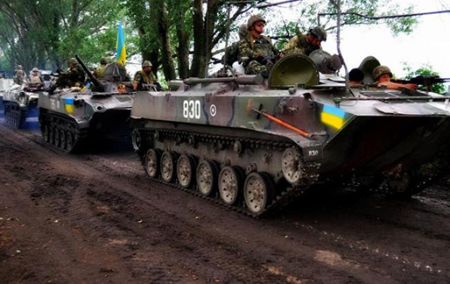 На Донбасі за добу загинули 6 бійців сил АТО, 9 поранені, - прес-центр
