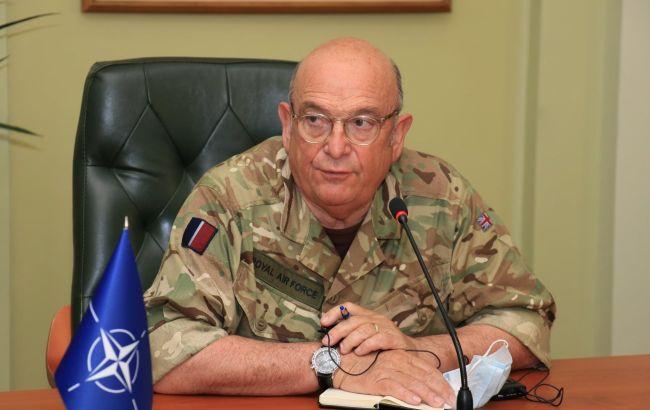 Глава військового комітету НАТО приїхав в Україну: обговорив з Хомчаком ескалацію на Донбасі