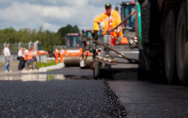 Фото: ремонт доріг