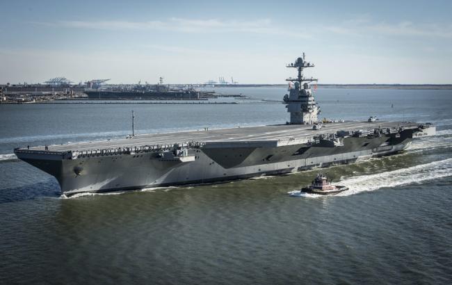 Фото: USS Gerald R. Ford