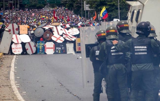 Протести у Венесуелі: кількість загиблих зросла до 39 осіб