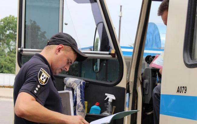 У Нацполіції назвали кількість несправних автобусів, виявлених під час перевірок