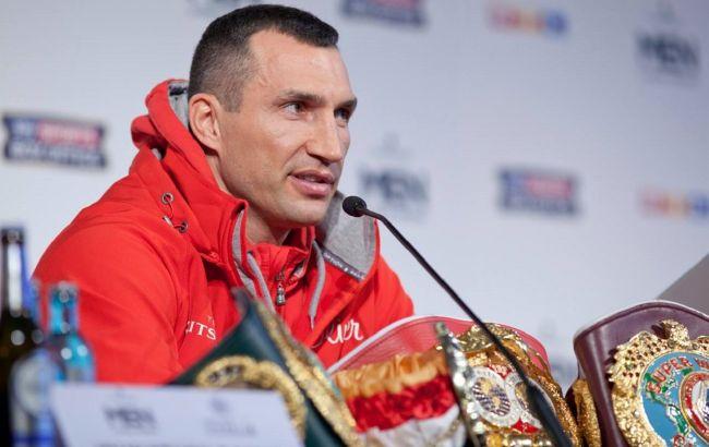 Володимира Кличка включили до Міжнародної зали боксерської слави