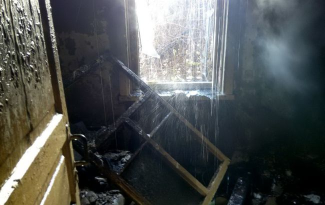 Фото: последствия пожара в Харькове