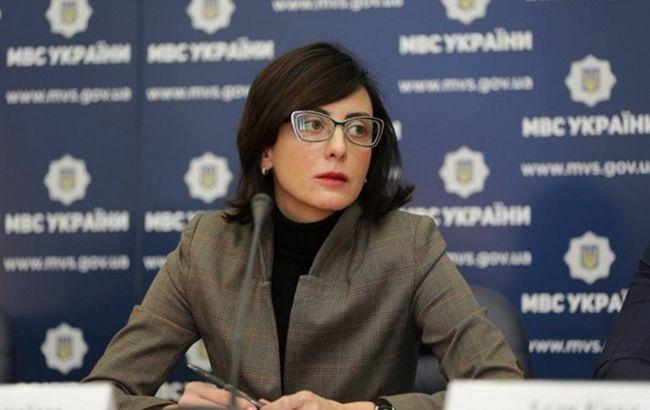 Фото: Хатия Деканоидзе сообщила об охране порядка в Киеве