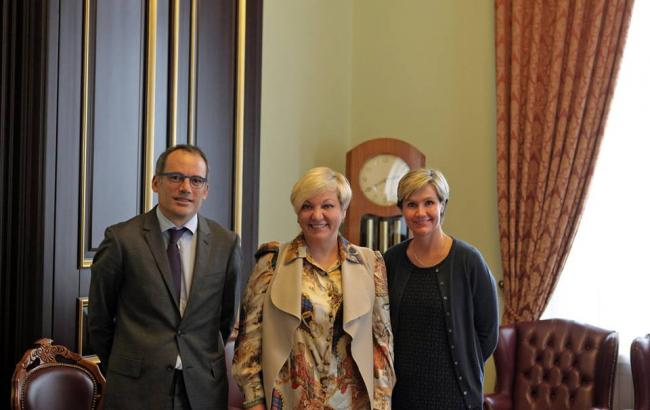 Фото: Валерія Гонтарєва зустрілася з представниками Світового банку