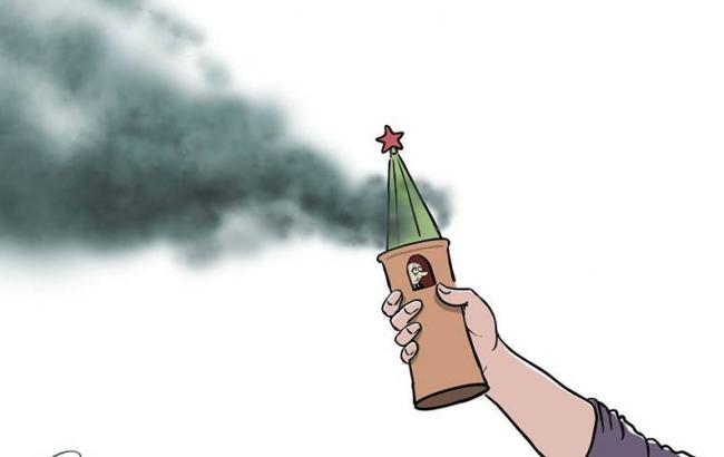Карикатурист похвалив феміністок за акцію в Москві