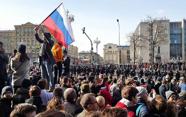 Фото: митинг в Москве