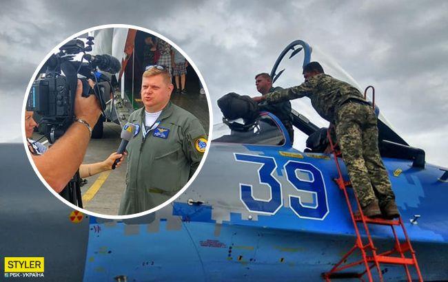 Поразил зрителей: украинский летчик второй месяц подряд становится лучшим в мире (фото)