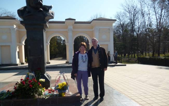 Фото: Українці вшанували пам'ять Тараса Шевченка