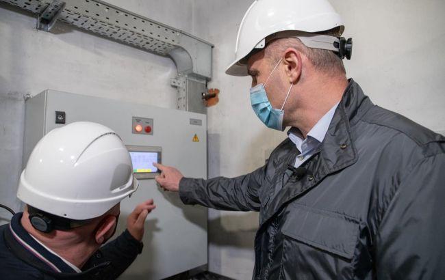 На Дарницкой ТЭЦ установлено два новых электрофильтра газоочистки, - Кличко