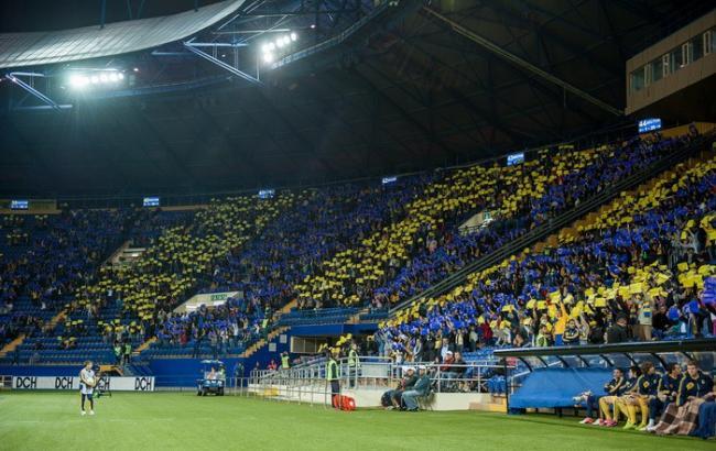 """Фото: матч відбудеться а стадіоні """"Металіст"""""""
