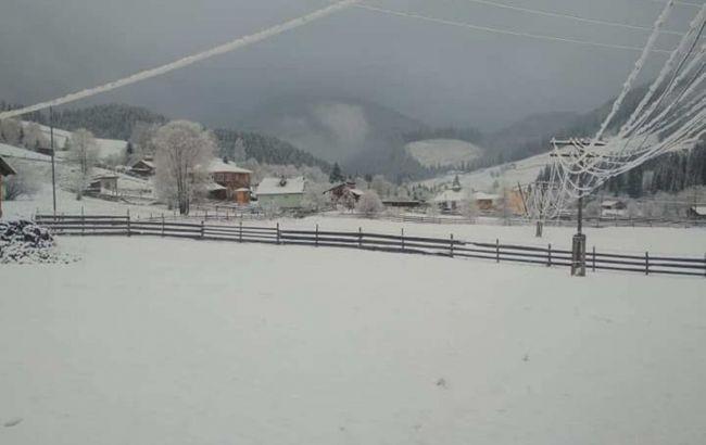 Україну засипає снігом: в яких регіонах негода
