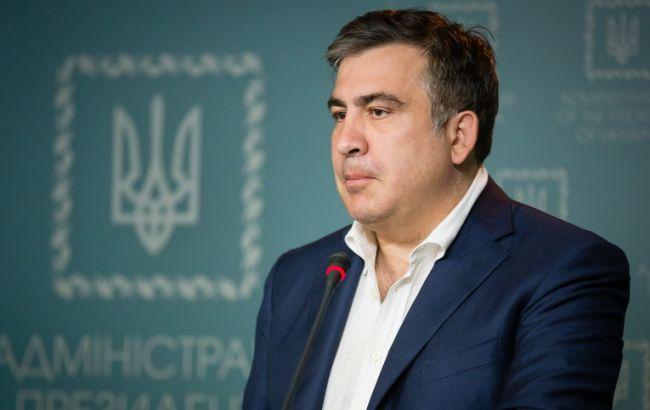 Саакашвили обвинил олигархов в массовой коррупции