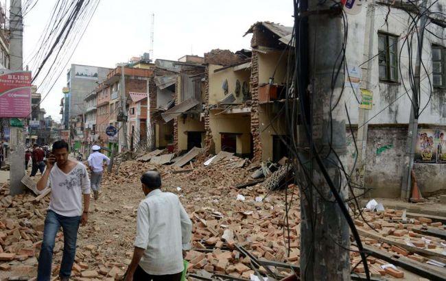 Число жертв землетрусу в Непалі перевищила 3,4 тис. осіб