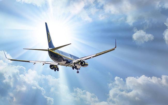 Фото: самолет Ryanair (facebook.com/ryanair)