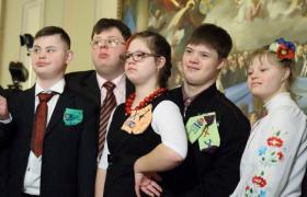"""Фото: """"Солнечные"""" дети в Раде (РБК-Украина)"""
