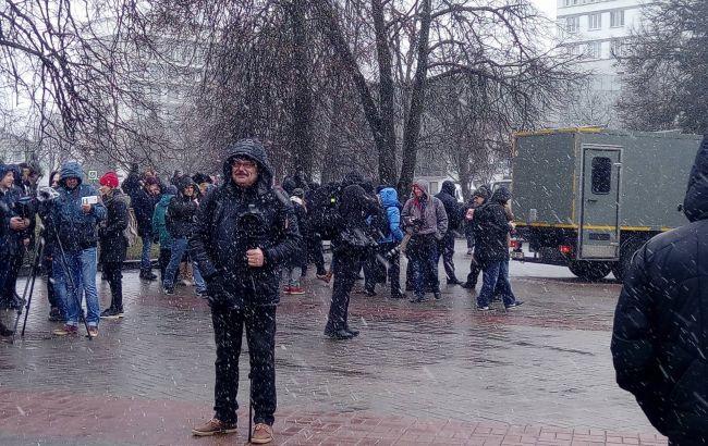 ВМинске задерживают активистов, участвующих вакциях коДню Воли